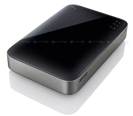 Buffalo outs HDW-P550U3 external drive with USB 3.0 and WiFi in Japan