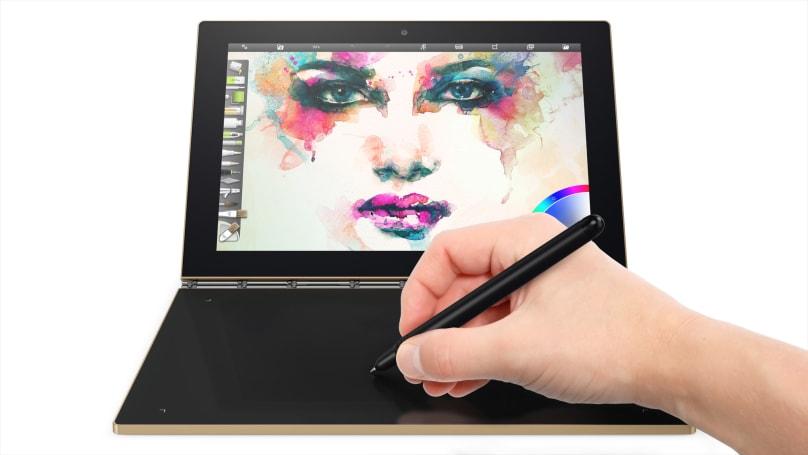 Lenovo's sketch-ready Yoga Book ships on October 17th