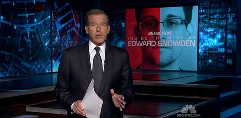 Watch Edward Snowden's interview with NBC right here