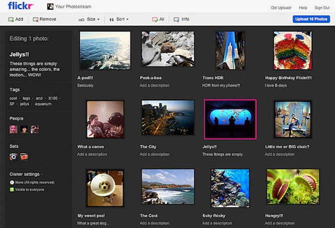 Flickr outs new Uploadr feature for image uploads: HTML5-based, drag-and-drop UI