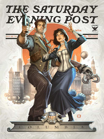 Be incredibly impressed by this BioShock Infinite fan art