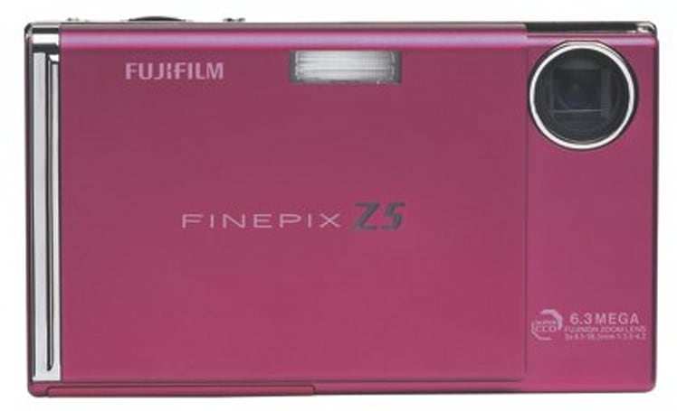 Fujifilm's Z5fd compact digicam arrives in pink