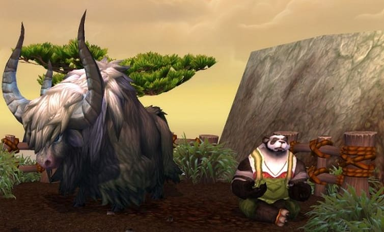 Yak mounts lumbering your way in Mists of Pandaria
