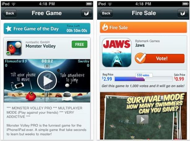 OpenFeint's promotional app now called Game Channel