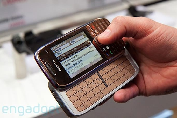 Nokia E75 hands-on