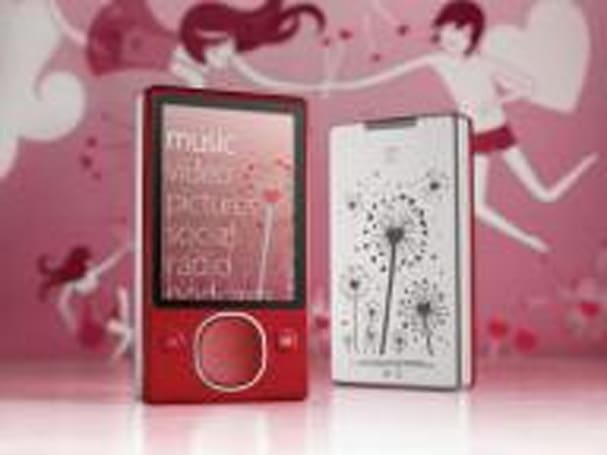 Red Zune 80, lovey-dovey Zune Originals artwork emerge for Valentine's Day