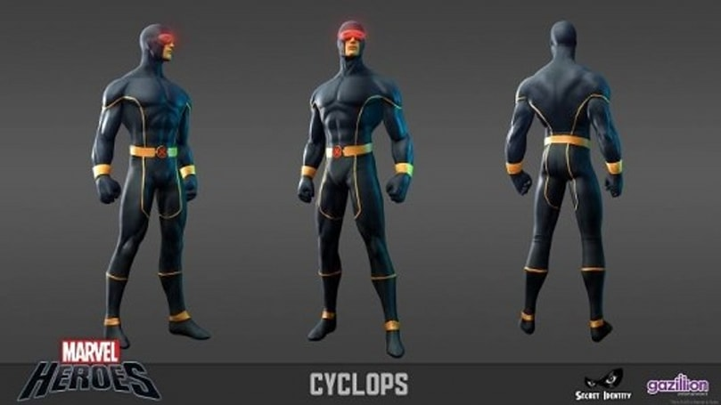 Cyclops joins Marvel Heroes' roster