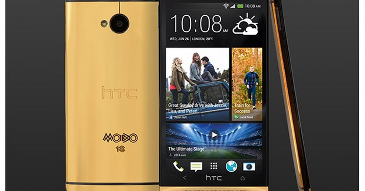 HTC to offer five genuine gold One smartphones for £2,750 ...