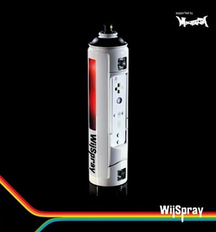 Video: WiiSpray lets virtual taggers spray without fear of the man