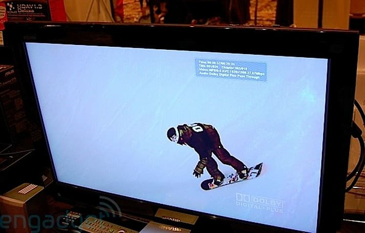 TrueHD on an HTPC caught in action