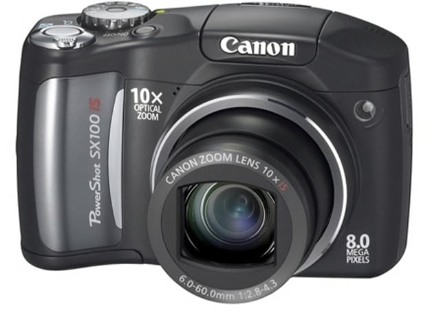 Canon's SX100 with 10x zoom, A720, and budget 12 megapixel A650