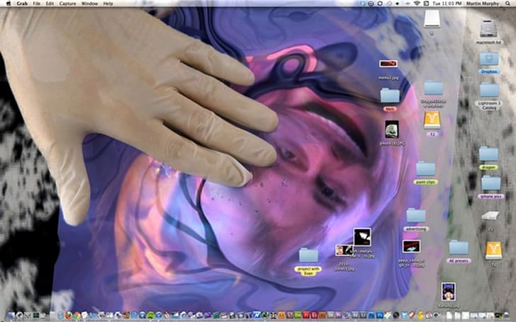 This is what artists do with their desktops