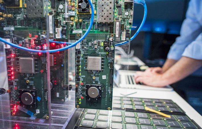 Samsung plugs IBM's brain-imitating chip into an advanced sensor