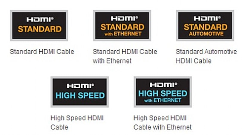 HDMI logos updated: version numbers out, supported features in