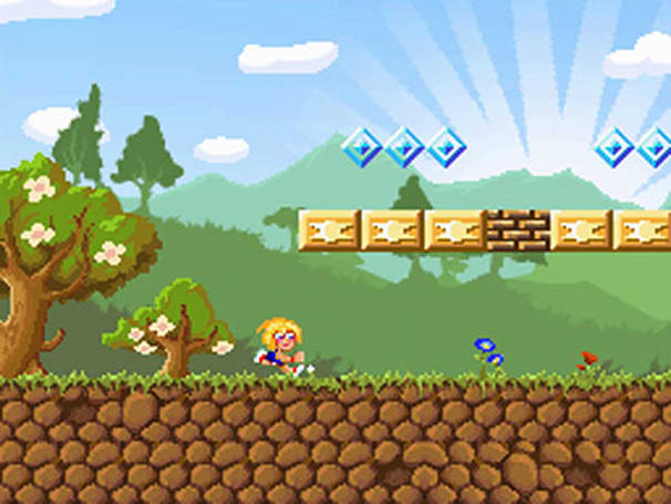 Great Giana Sisters! Infamous Super Mario Bros. clone cloned for DS