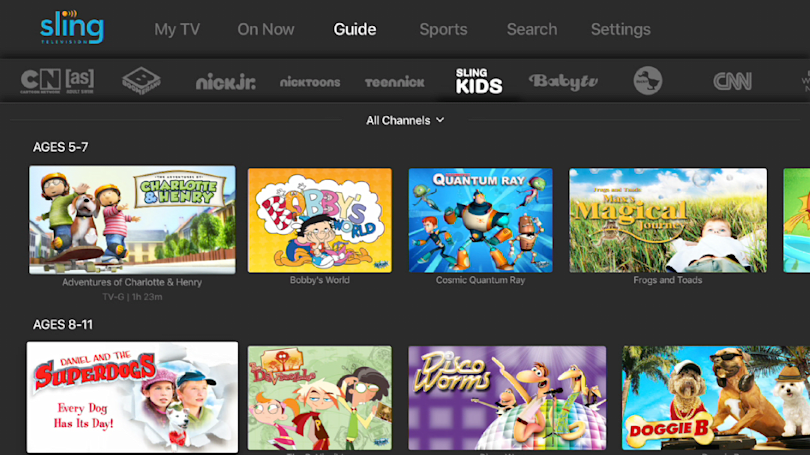 Sling TV just added even more kids programming