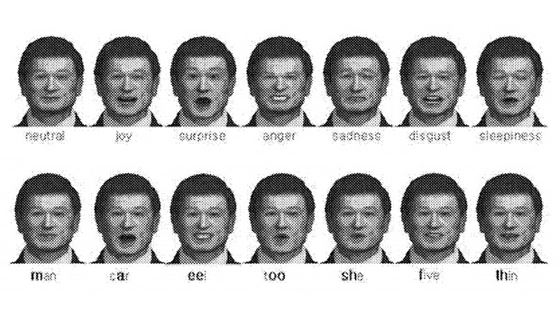 Samsung patent ties emotional states to virtual faces through voice, shows when we're cracking up