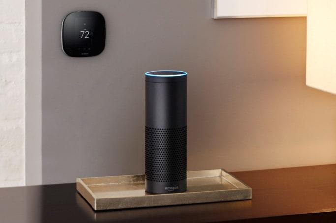 Amazon Echo starts talking to your thermostat