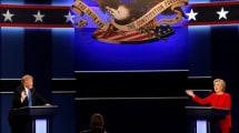 Das erste TV-Duell Clinton vs. Trump war ein Internetrekord
