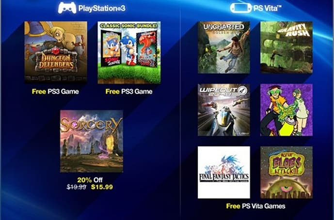 PlayStation Plus deals: Dungeon Defenders, Sonic 1 and 2 for free, Sega discounts
