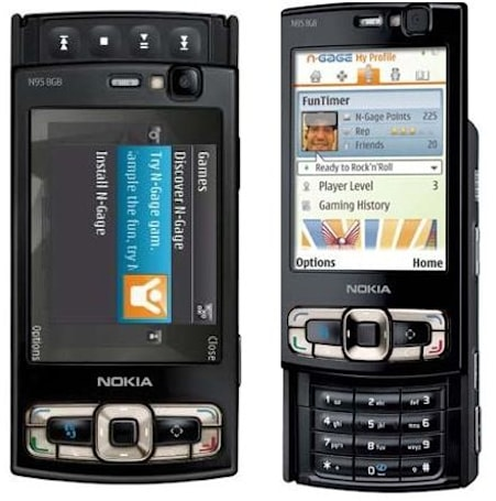 Nokia's N95 8GB for North America gets v20 firmware as well