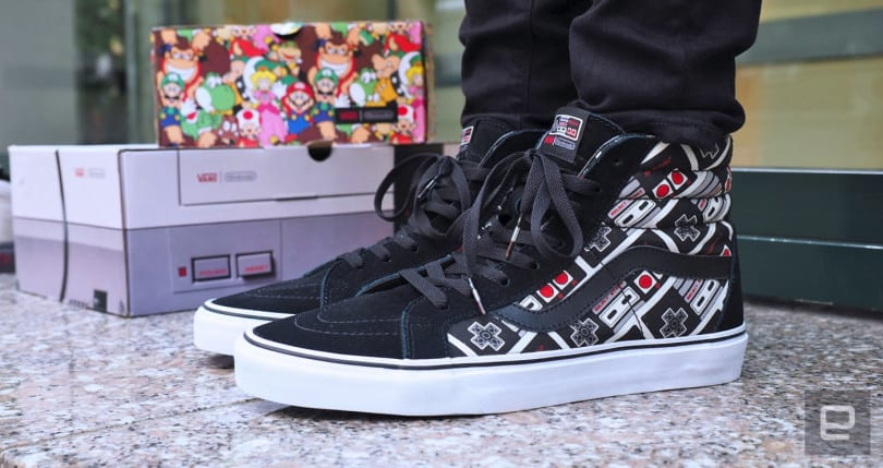 Special edition Nintendo Vans prove your inner nerd never died