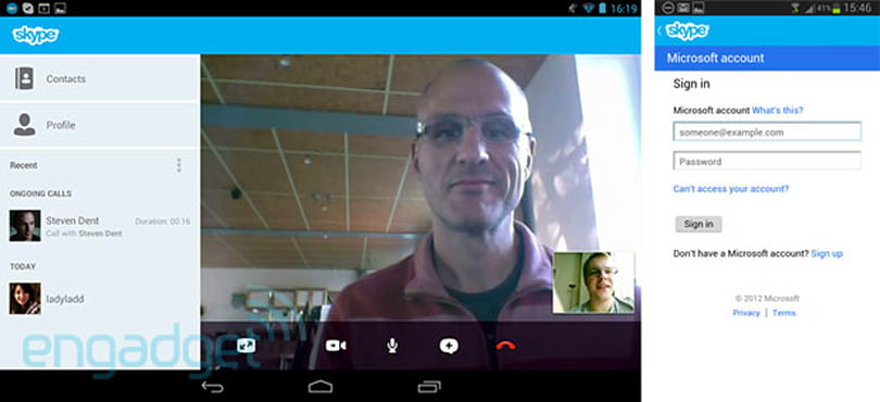 Skype version 3.0 arrives on Android devices: Microsoft login, refreshed tablet UI (hands-on)