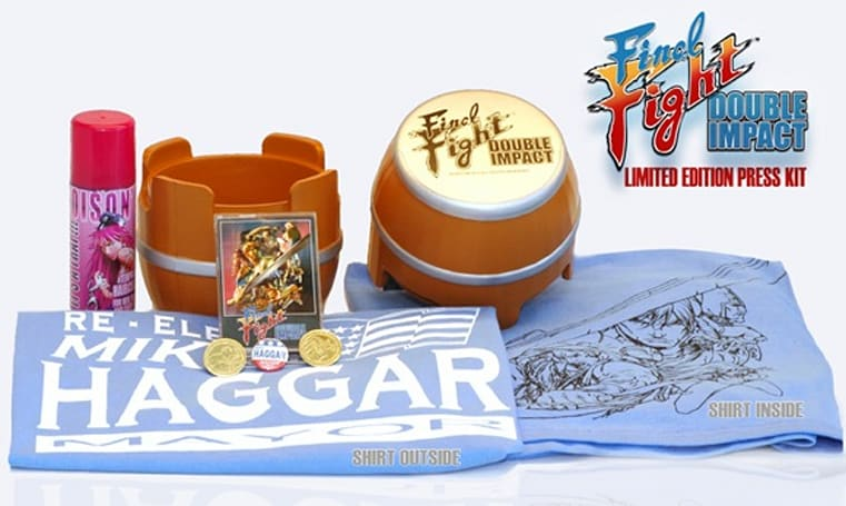 Final Fight: Double Impact press kit is the mayor of all press kits [update]