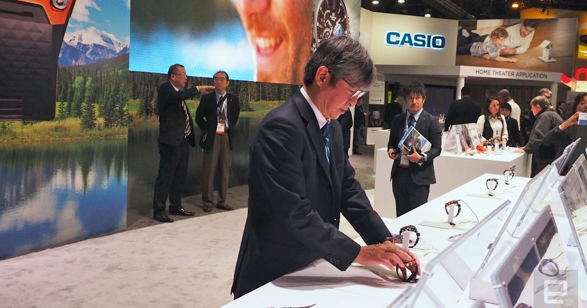 photo image Casio boss: One smartwatch doesn't fit all