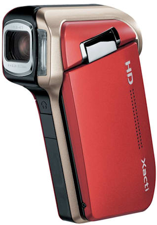 Sanyo's Xacti DMX-HD700 is world's smallest and lightest 720p camcorder