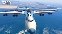 100+ People in GTA 5: Menschenmassen vs. Zug, Boot, Flugzeug