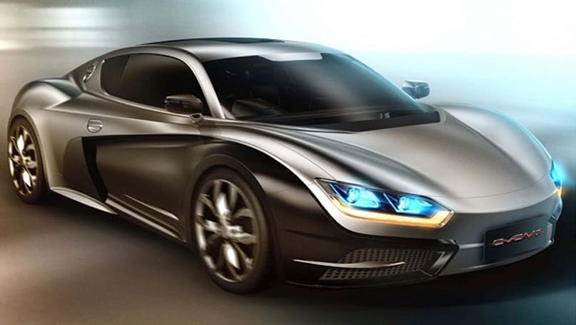 Chinese automaker shows off country's first EV sports car