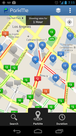 ParkMe updates Android app with real-time street parking info