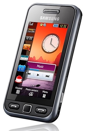 Samsung S5320 Tocco Lite reps the midrange in the UK