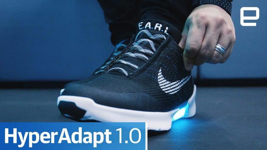 Nike HyperAdapt 1.0: Hands-on