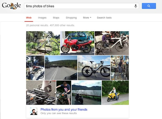 Google uses computer vision and machine learning to index your photos