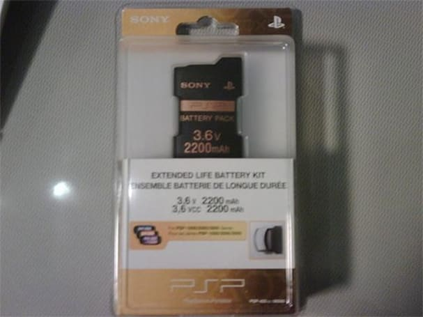 Sony apparently puts PSP Extended Life Battery Kit back on sale