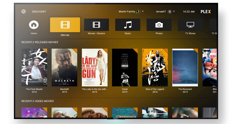 Plex's new Kodi plugin lets you enjoy the best of both worlds
