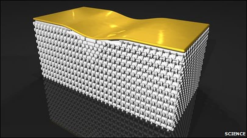 3D invisibility cloak fashioned out of metamaterials