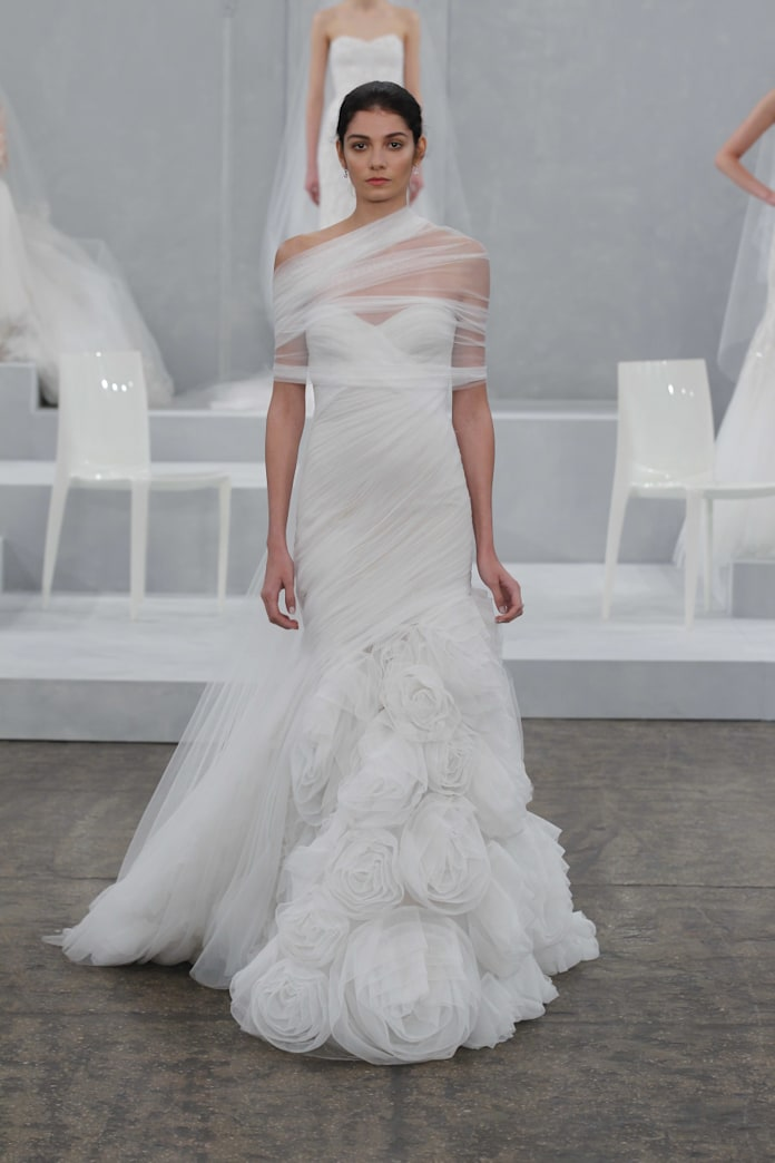 The hottest trends from this year's spring bridal market