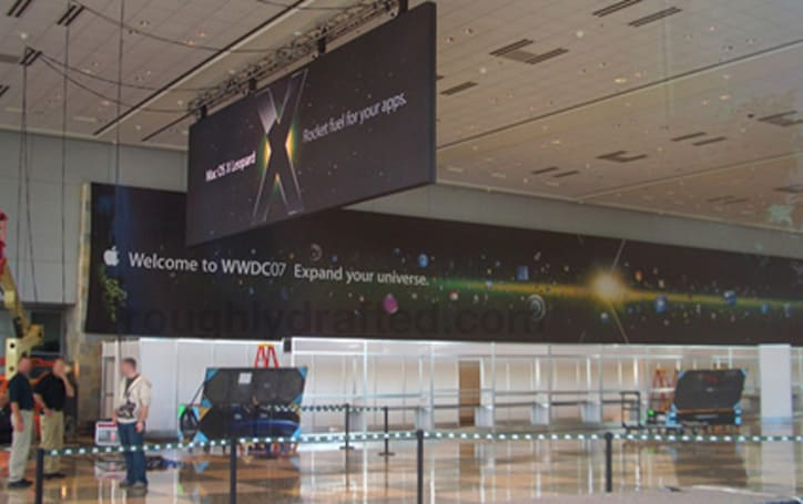 First WWDC 2007 pictures