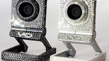 Swarovski-coated webcam: because everything should be shiny