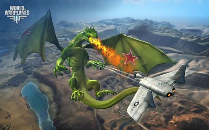 World of Warplanes is adding dragons for that extra kick of historical accuracy
