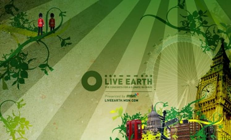 Live Earth delivers 24 hours of HD concerts July 7th