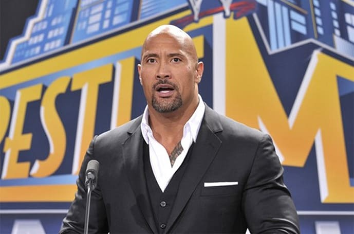 WWE 2K14 taps The Rock for cover spot
