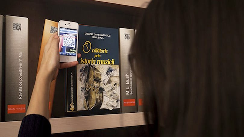 Wallpaper lets your friends borrow e-books from real-world shelves
