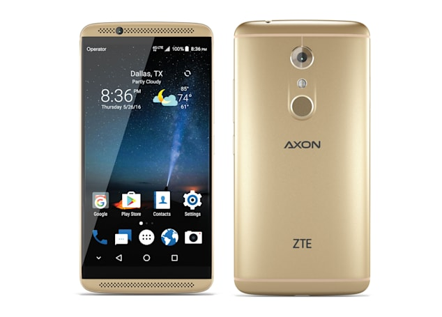 Engadget giveaway: Win an Axon 7 smartphone courtesy of ZTE!