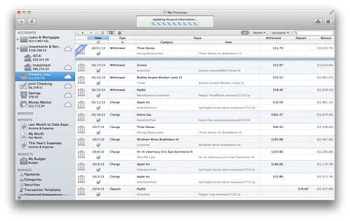 iBank 5 for the Mac available from IGG Software
