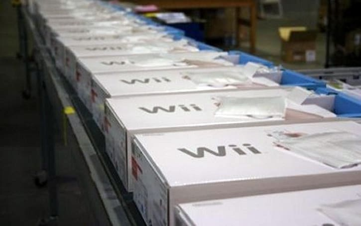 Nintendo Wii's last holdout is the United States as European shipments end