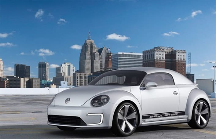 Volkswagen E-Bugster Concept is an electric bug that wants to go fast